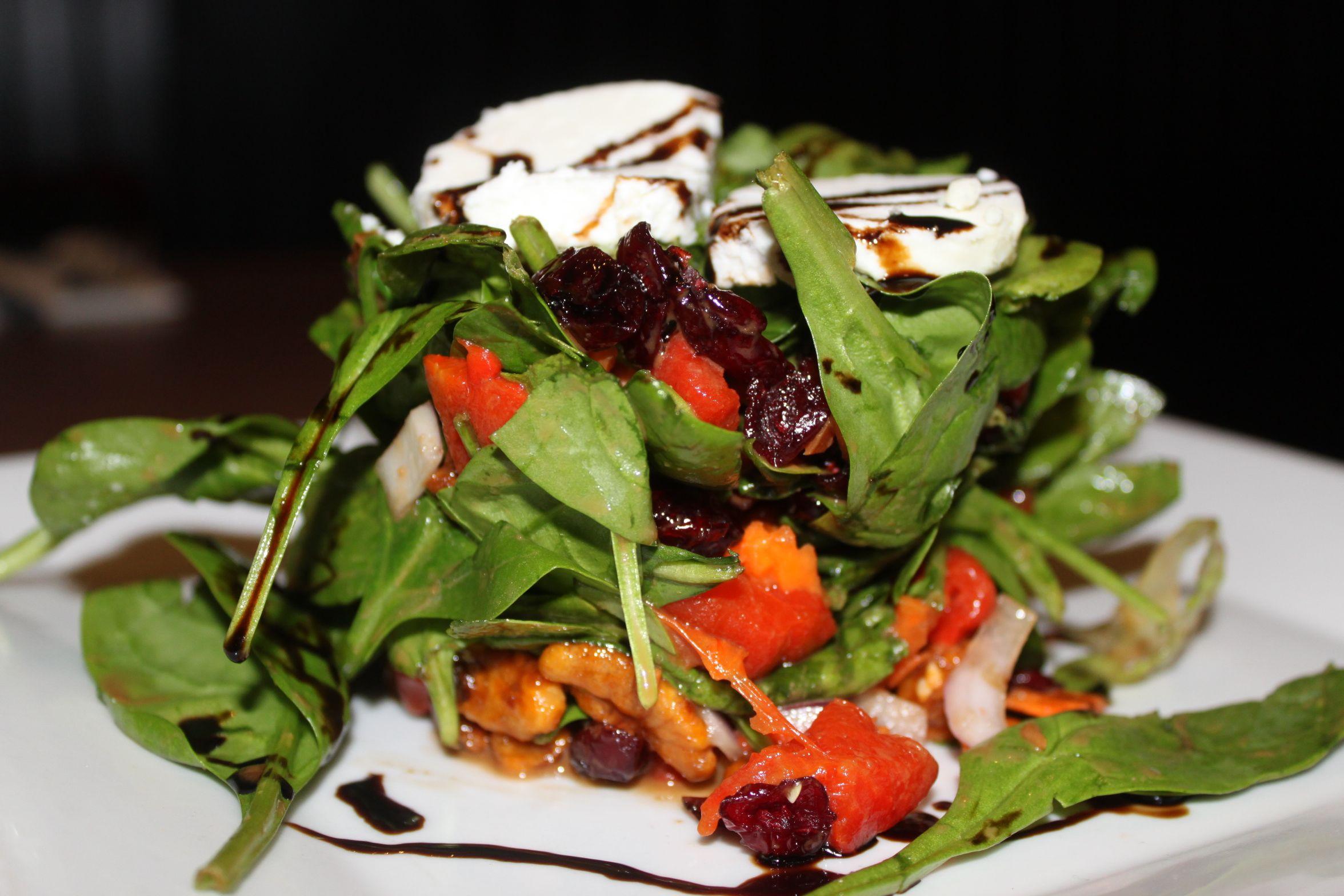 Corrig Spinach Salad