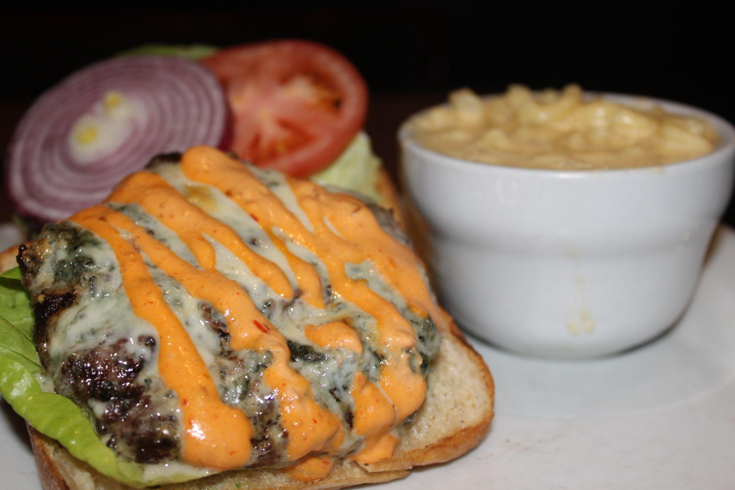Sparky's Lamb Burger